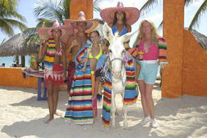 Cozumel Beaches with Mexican flavor!