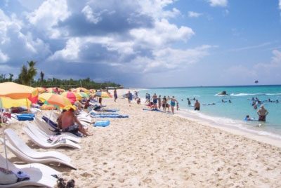 Playa Mia Is The Largest Beach On Cozumel