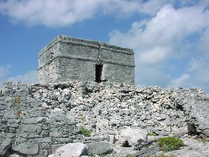 Castillo del Ray is the best ruin on our Cozumel Beaches.